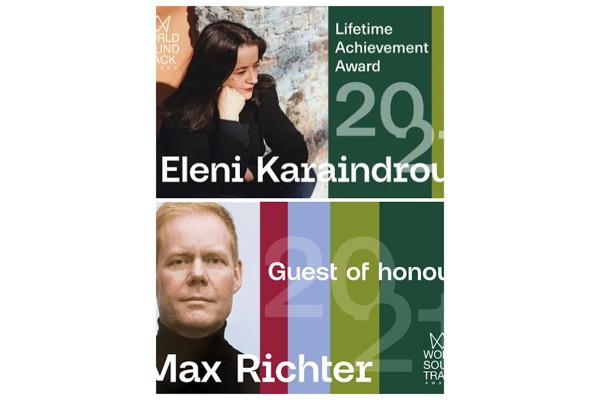 World Soundtrack Awards 2021 : les invités d'honneur Eleni Karaindrou et Max Richter en concert